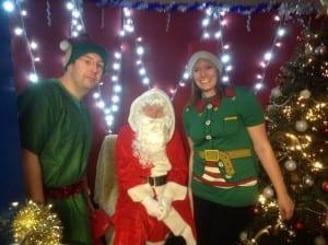 Santa - and his ElF Service!